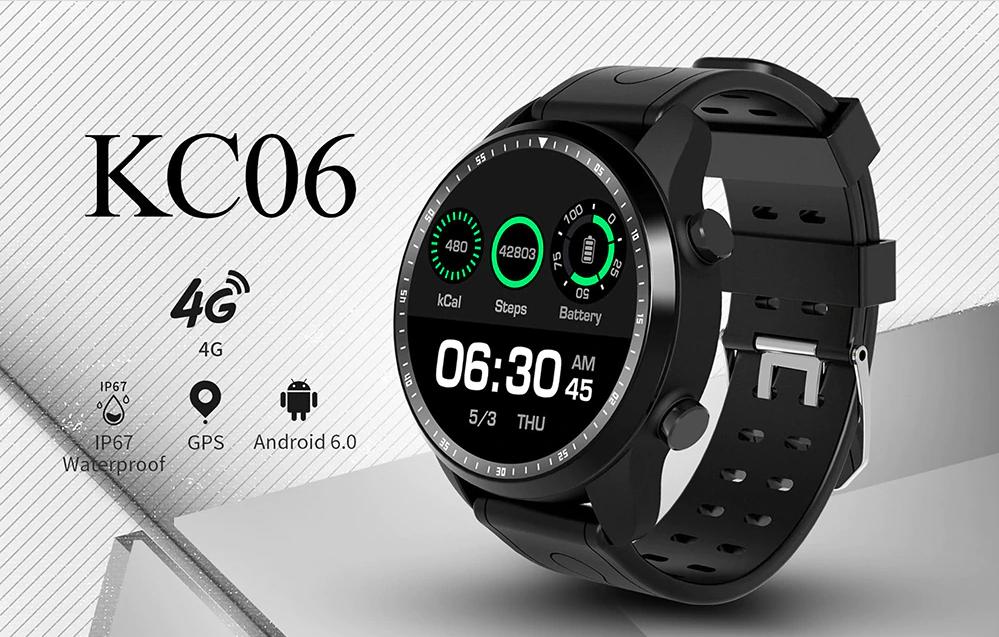 KingWear KC06 4G Smartwatch Phone - Amonet